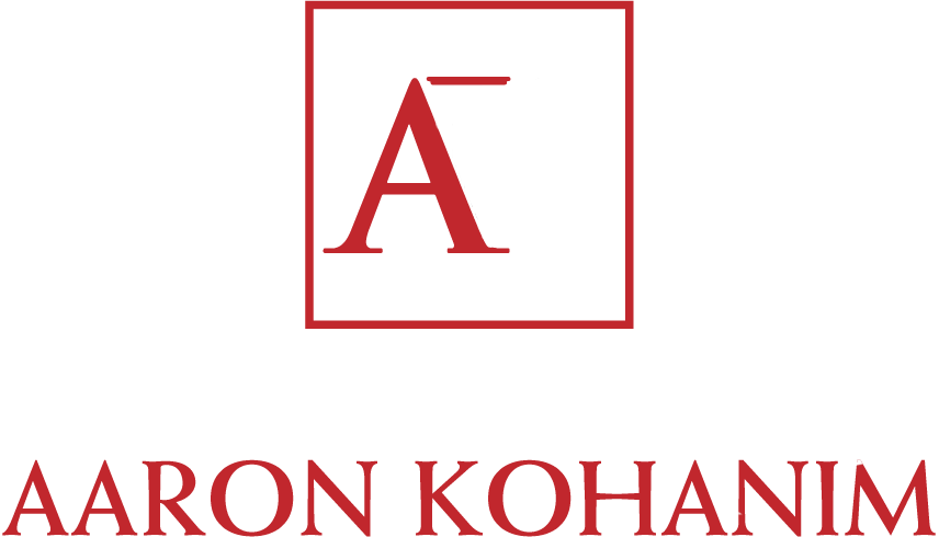 Law Office of Aaron Kohanim - Real Estate Law | Tenant Eviction | Landlord Eviction | Civil Litigation - Logo White