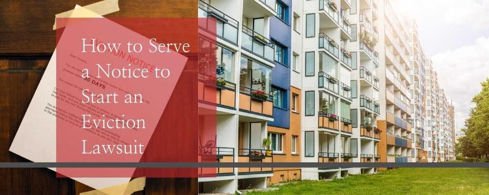 How to Serve a Notice to Start an Eviction Lawsuit - Kohan-Law, The Law Office of Aaron kohanim - Real Estate Law, Tenant Eviction Law, Landlord Eviction Law, Civil Litigation Lawyer